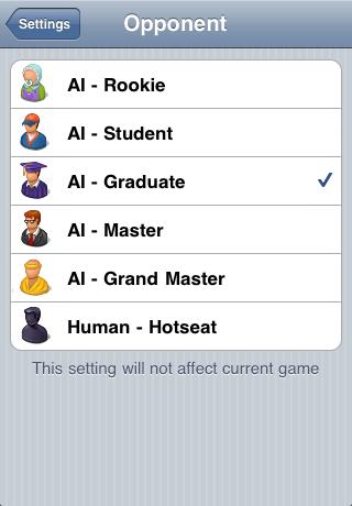 Screenshot Gobang Five in a Row : 五目並べ : 五子棋 : 오목 : 五目