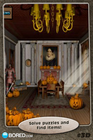 Screenshot Escape 3D: Halloween Night